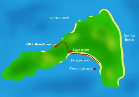 Ko Lipe map