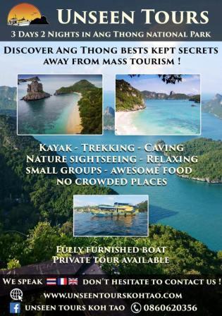 Croisière Thaïlande UNSEEN Tours