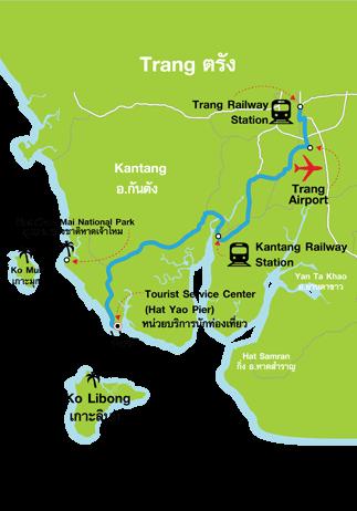 Ko Libong map