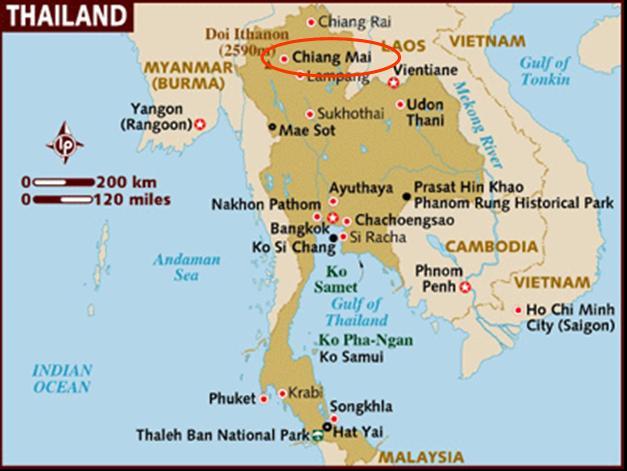 carte Chiang Mai