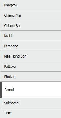 Bangkok Airways voyage en Thaïlande
