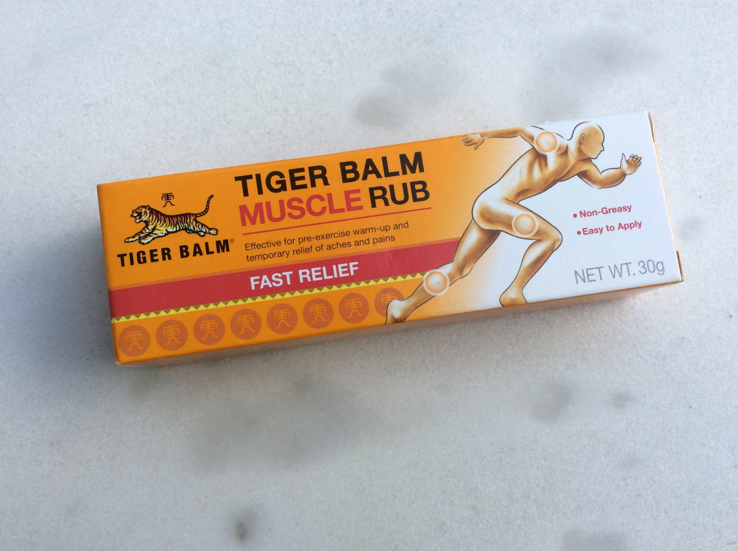 Tube pommade Baume du tigre en Thaïlande