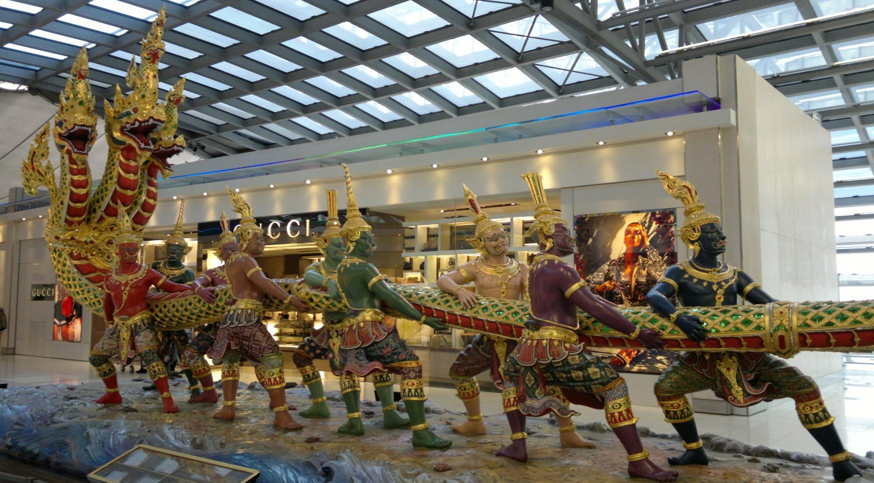 thailand Suvarnabhumi_Airport coronavirus